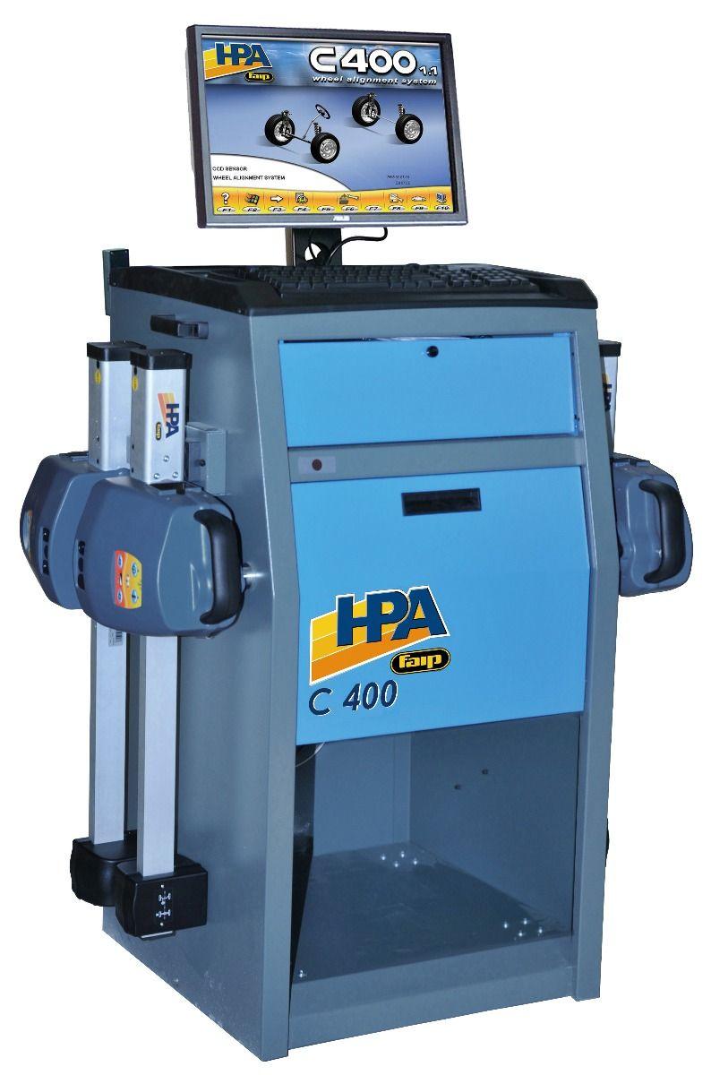 HPA-Faip C400 1 1 Wheel Alignment System | Wheel Aligner