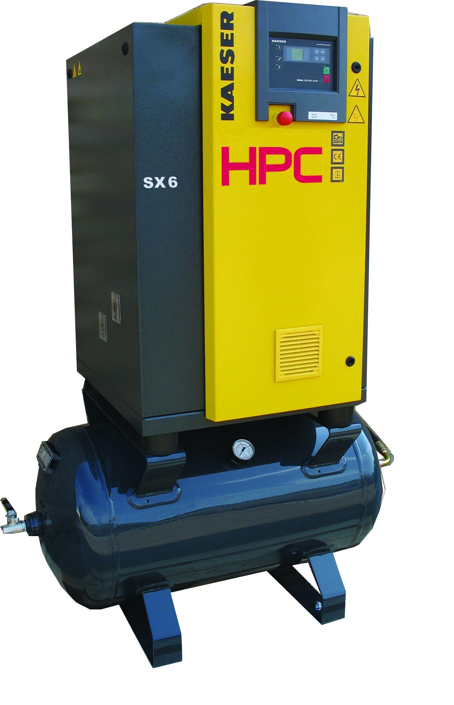 HPC SX6RM Rotary Screw Air Compressor | Air Compressors