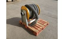 Pre-Owned Plymovent Hose Reel c/w 7.5m Yellow/Black Hose