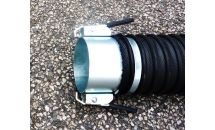 Rapid Action Hose Coupling for Exhaust Extraction