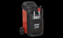 Sealey START320 Starter / Charger 320/45Amp 12/24V 230V