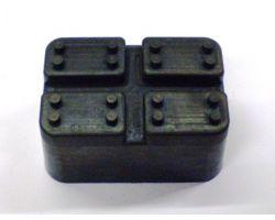 SLI000003/1 rubber block