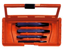 Bahco 1419/4 Stud Extractor Set, 4-Piece (M5-10, M8-14, M12-20, M16-24)