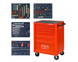 Bahco 1470K6FF1 1470K6 trolley with 168 tools