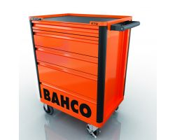 Bahco E72 5 Drawer mobile tool trolley