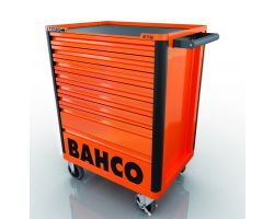 Bahco E72 8 drawer mobile tool trolley