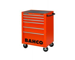 Bahco 1475K6 Classic C75 trolley 6 Draw.Pro Tool Trolley Orange