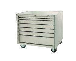 Bahco 1475KXL7SS 7 drawer robust stainless steel trolley -Stainless Steel