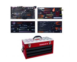 Bahco 1483KHD3RB-FF5 Metal case 1483KHD3RB with 142 tools