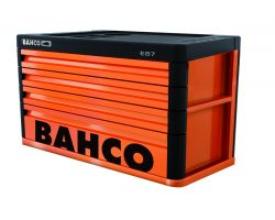 Bahco 1487K4 4 Dr Top Chest-Orange Premium E87