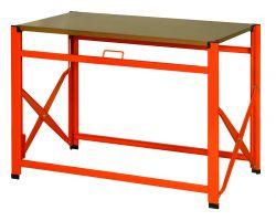 Bahco 1495FWB120TD MDF & Galvanized top foldable workbench