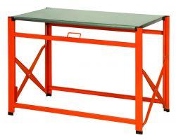 Bahco 1495FWB120TS Galvanized top foldable workbench