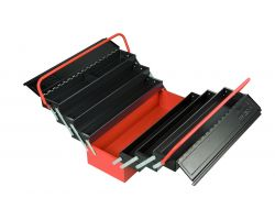 Bahco 1497MBF750 Cantilever style tool box with 7 compartments