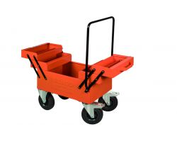 Bahco 1497MBW Metal Tool Box On Wheels
