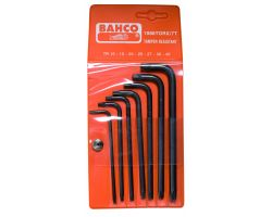 Bahco 1986TORX/7T Offset TORX PLUS® key Set, 8-Piece, Torx-Ttx, Long
