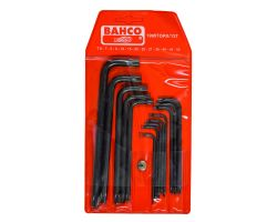 Bahco 1995TORX/13T Offset Screwdriver Set, 13-Piece, Black Finish, Tx