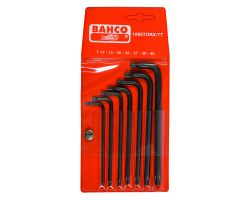 Bahco 1995TORX/7T Offset Screwdriver Set, 7-Piece, Black Finish, Tx