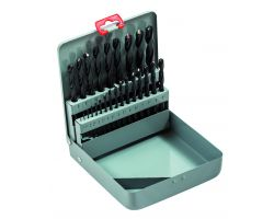 Bahco 451-MB-3 High speed stell drill set 25 piece, 1-13 By 0.5
