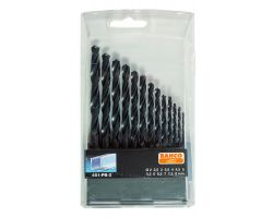 Bahco 451-PB-2 High speed stell drill set, 13 piece, 2-8 By 0.5 mm