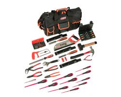 Bahco 4750FB2-19TS001 Bag 4750FB2-19A with 61 tools for maintenance