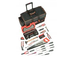 Bahco 4750FB2W-TS001 Bag 4750FB2W-24A with 72 tools