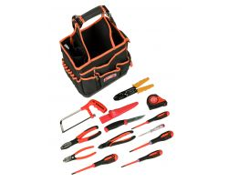 Bahco 4750FB3-12TS100 Bag 4750FB3-12 with 12 tools for electricians