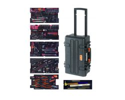 Bahco 4750RCHDW01FF1 Rigid case 4750RCHDW01 with 240 tools