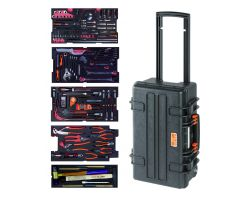 Bahco 4750RCHDW01FF2 Rigid case 4750RCHDW01 with 159 tools