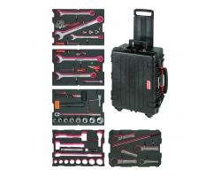 Bahco 4750RCHDW02FF15 Windmills Heavy Duty Tools Application kit