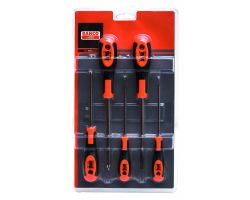 Bahco 604-5 Screwdriver set 600-series, 5 piece