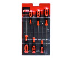 Bahco 610-6 Screwdriver set 600-series, 6 piece, slot PZ