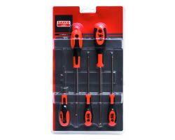 Bahco 612-5 Screwdriver Set, 5-Piece, Tx
