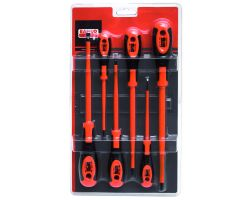Bahco 620-6 Screwdriver Set, Insulated, 6-Piece, Slot+Ph