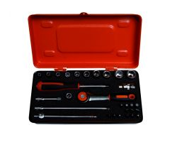 Bahco 6729MHR 1/4 Socket Set With Bits