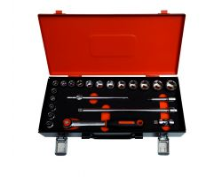 Bahco 7422MHR 3/8 Socket Set