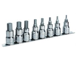 "Bahco 7808HM 1/2"" Socket Set, Hex."