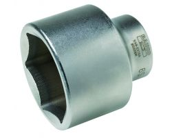 "Bahco 9500SM-82 Standard length sockets 1"", Hex., 82mm Af"
