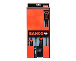 Bahco B219.004 BahcoFit screwdriver set 4Pcs Screwdriver Set Slot/Ph