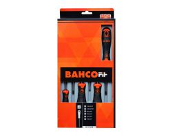 Bahco B219.026 BahcoFit screwdriver set 6Pcs Screwdr Set Slotted/Ph/Pz