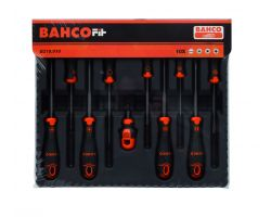 Bahco B219.010 BahcoFit screwdriver set 10Pc Set Slotted/Ph/Pz/Roberts
