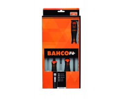 Bahco B219.015 BahcoFit screwdriver set 5Pcs Screwdriver Set Slot/Pz