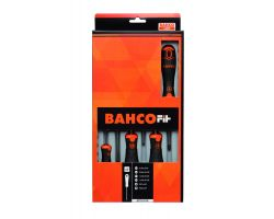 Bahco B219.016 BahcoFit screwdriver set 6Pcs Screwdriv Set Slotted/Pz