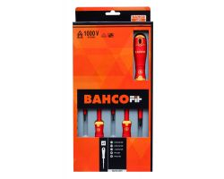 Bahco B220.005 BahcoFit 5Pcs Insulated Scd Set Slot/Ph