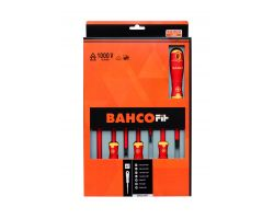 Bahco B220.007 BahcoFit 7Pcs Insulated Scd Set Slot/Ph