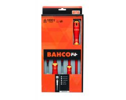 Bahco B220.015 BahcoFit 5Pcs Insulated Scd Set Slot/Pz