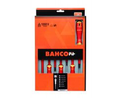 Bahco B220.017 BahcoFit 7Pcs Insulated Scd Set Slot/Pz
