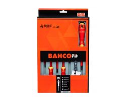 Bahco B220.027 BahcoFit 7Pcs Insulated Scd Set Slot/Ph