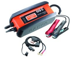 Bahco BBCE612-2 2 Amps Fully automatic charger/maintainer for 6/12V batteries