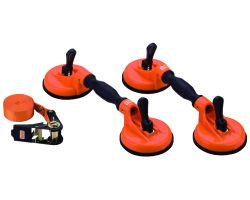 Bahco BBS150 2 Double Suction Cups & Belt