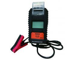 Bahco BBT80 6&12V Digital Battery Tester with Printer